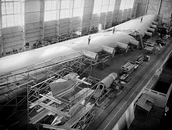 Building Howard Hughes' Sprue Goose ~