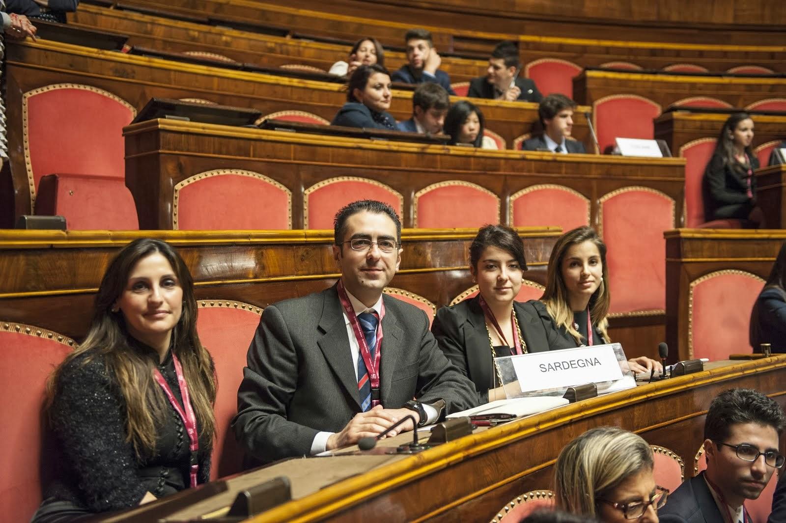 La delegazione in Senato