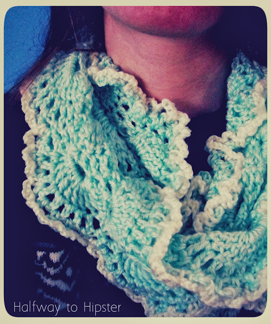 Queen Anne's Lace Scarf