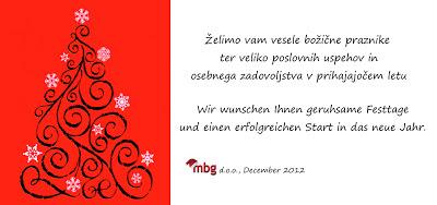 Lepe praznike! Frohes Fest! Merry Christmas!