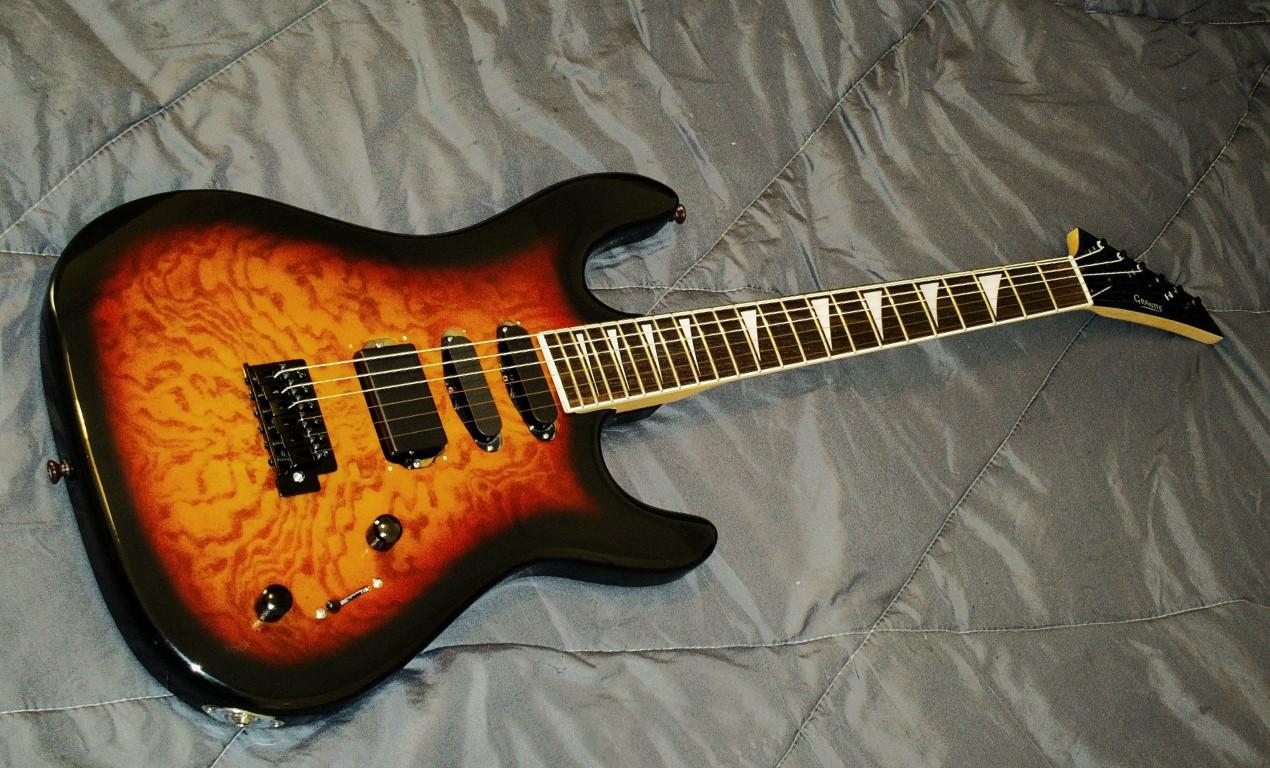Granite EG-11BS modification!   Guitar Dreamer