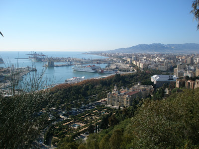 View from Gibralfaro Castle