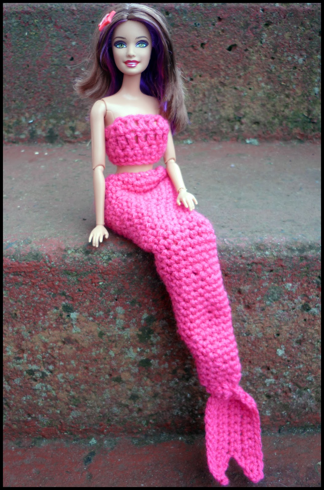 Mini Owl Amigurumi Pattern : Mamma That Makes: Barbie Mermaid Tail - Free crochet pattern
