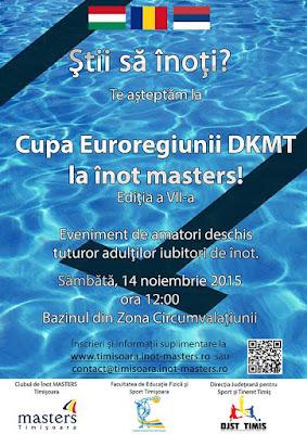 Cupa DKMT la înot. 14 Noiembrie 2015. Timişoara. Florin Chindea, maseur oficial al evenimentului