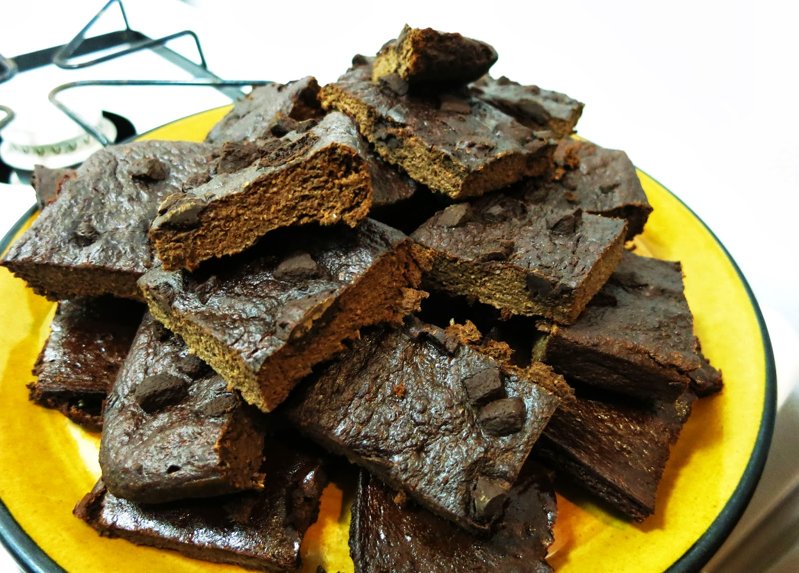 Banana Beet Brownies