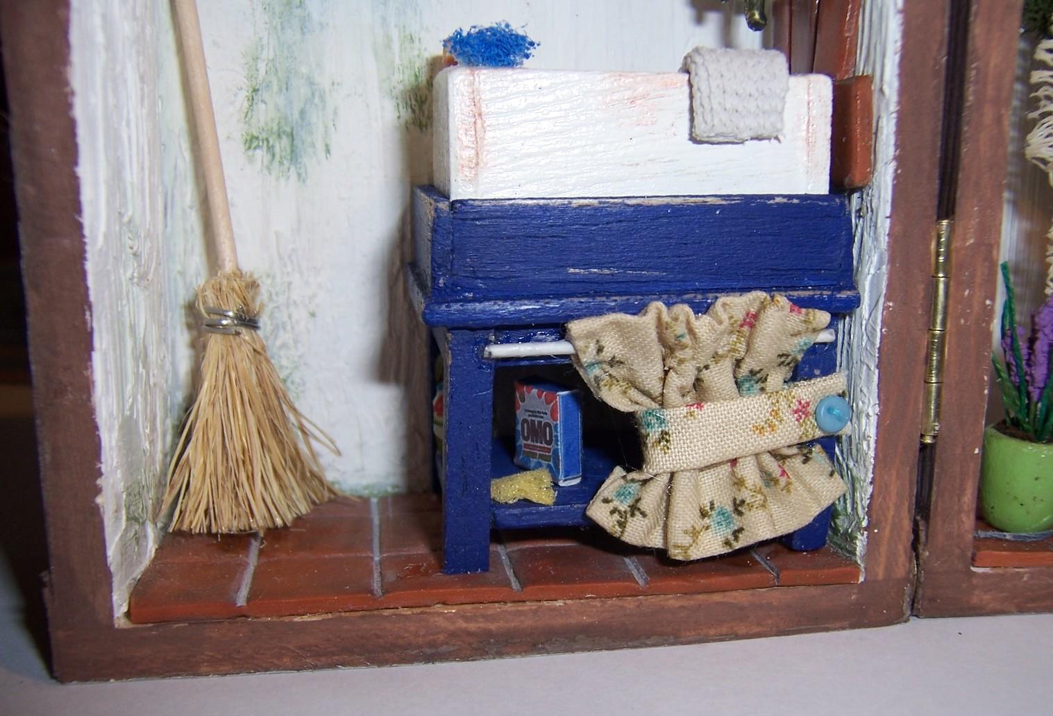Edenminiaturas lavadero fregadero de patio for Lavadero para patio