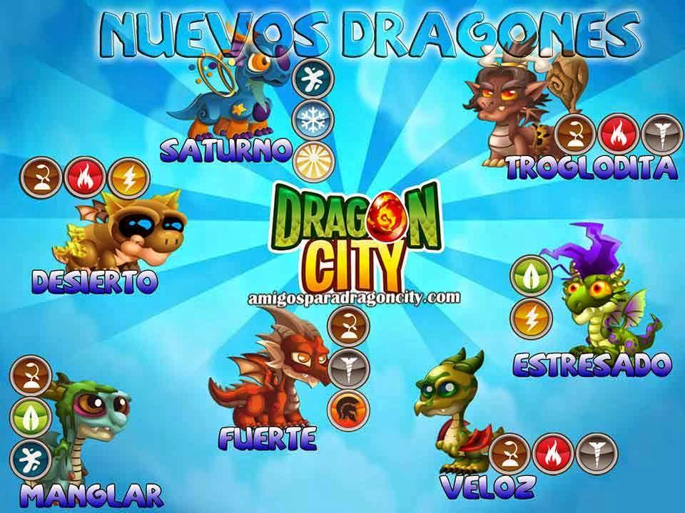 Nuevos Dragones Especiales De Dragon City Amigos Para Dragon City