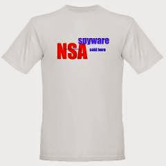 NSA Spyware Sold Here Organic Men's Tee