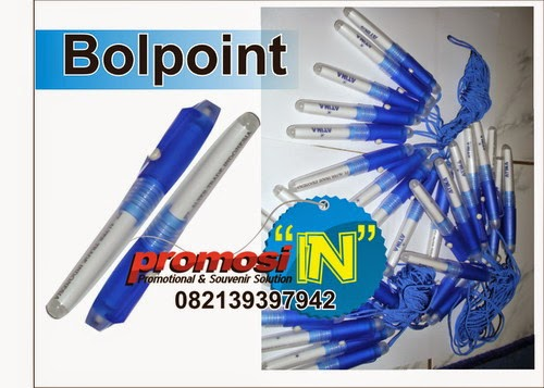 Bolpoint, Supplier Bolpoin Murah, Pulpen Promosi Sablon, Bolpen Press