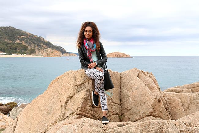 Travel: Tossa de Mar Beach