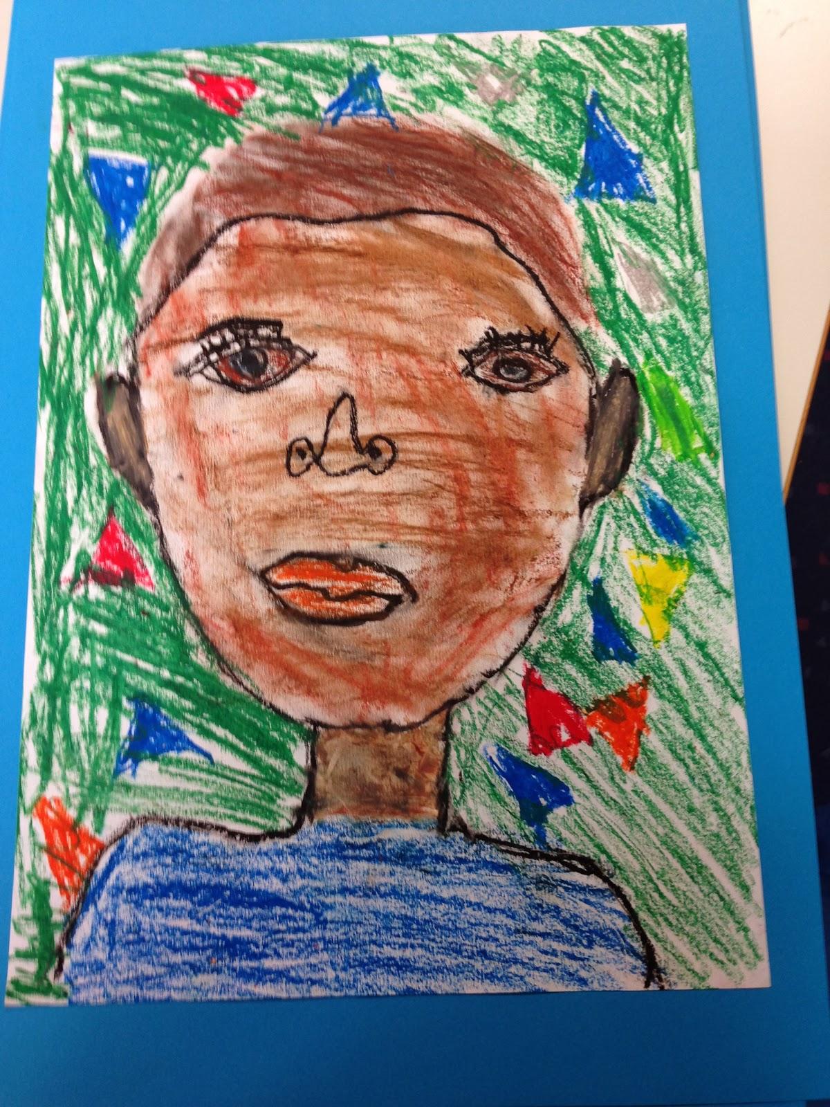 Grundschule 2.0: Selbstporträts zeichnen in der Grundschule