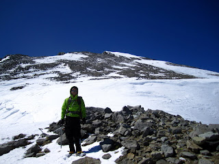 The North Slope of Split Mountain behind me.