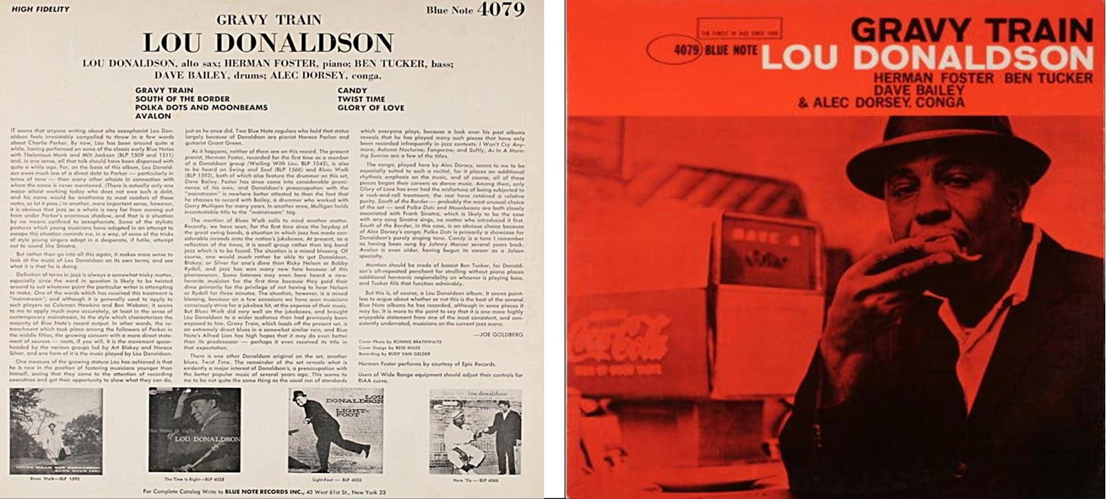 Lou Donaldson Gravy Train