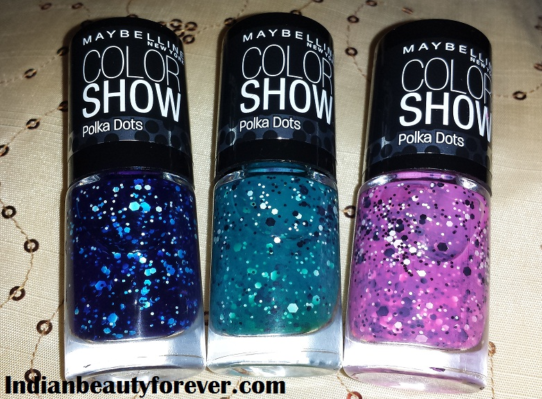 Maybelline Color Show Polka dots Review and Swatches