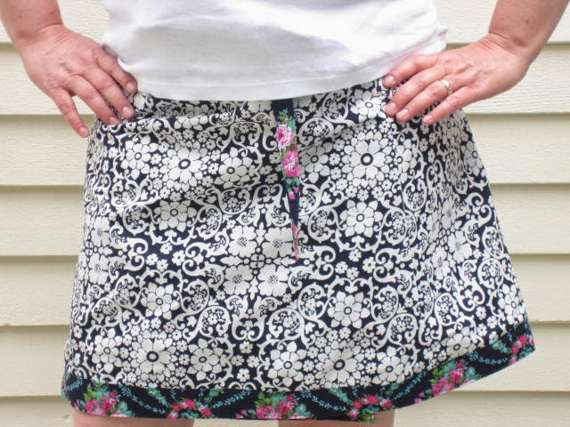 make it perfect wrap skirt pattern