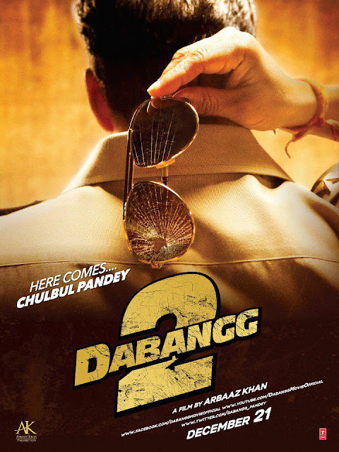 Salman's Dabangg 2 First Look Wallpapers