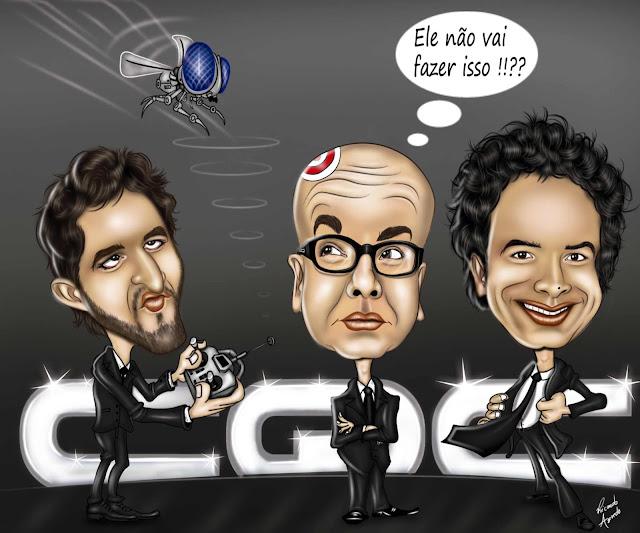 Essa caricatura foi criada para o concurso na band do cqc