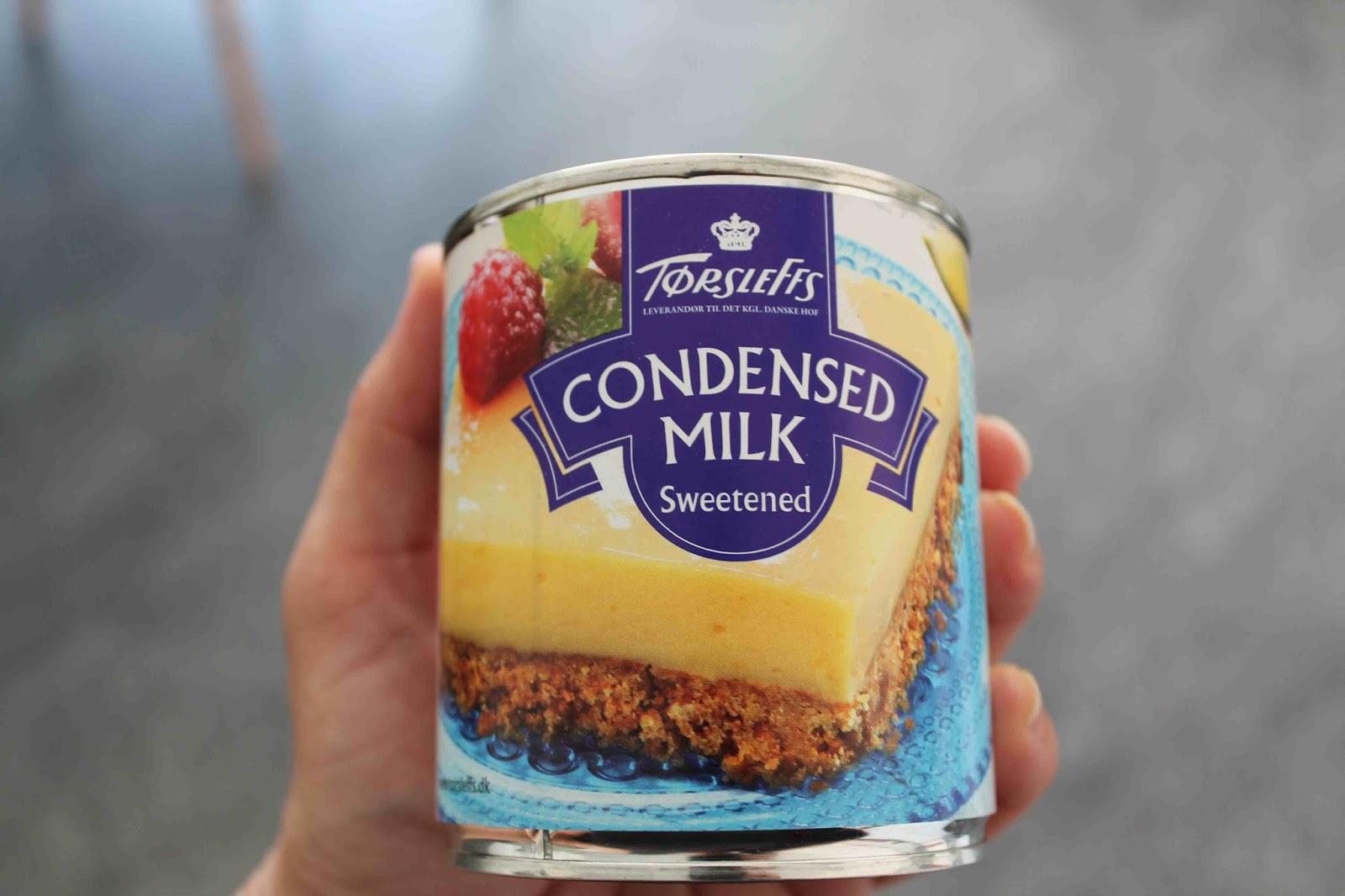 vad kan man göra med kondenserad mjölk