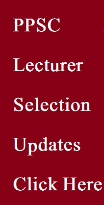 PPSC Lecturer Selection 2015
