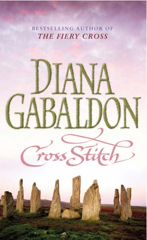 cross stitch by diana gabaldon