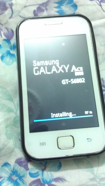 Software update for Samsung Galaxy ACE Duos GT-S6802