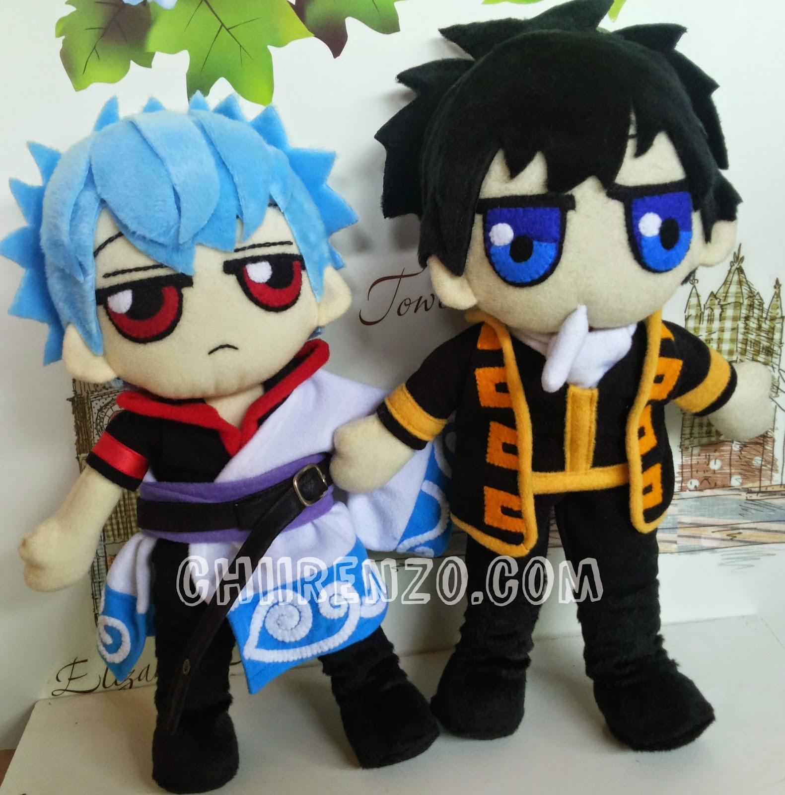 Chiirenzo: Gintoki And Hijikata Plush Doll