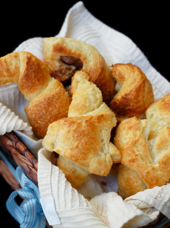 how to make homemade butter croissants