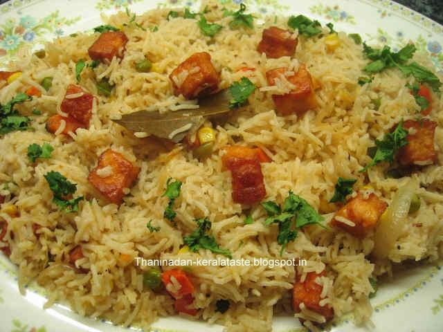 vegetable biryani ingredients of vegetable biryani basmati rice 2 cups ...