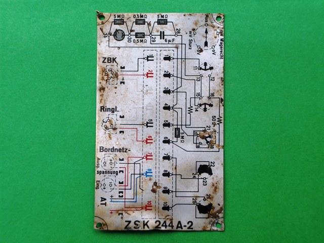 schema elettrico came by 1500 fare di una mosca