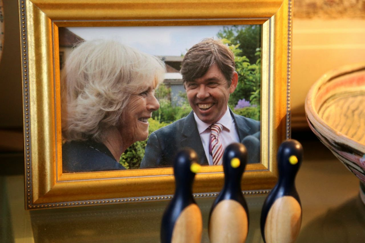 David Herbert meets the Duchess of Cornwall