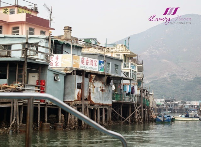 hong kong tourist attraction tai o stilt houses