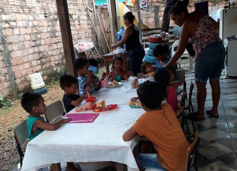 Creche comunitária que atende crianças de famílias carentes pede socorro ao Município