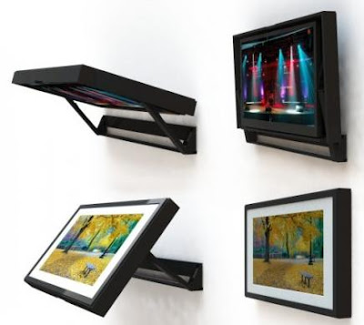Smart Gadgets For Your TV - FlipAround Motorized TV Holder