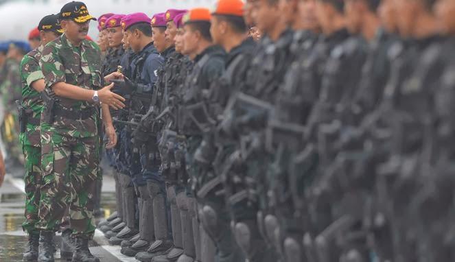 TNI Jamin Keamanan dan Keutuhan NKRI dari Ancaman Terorisme