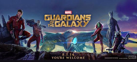 Guardians of the Galaxy - Wide Poster