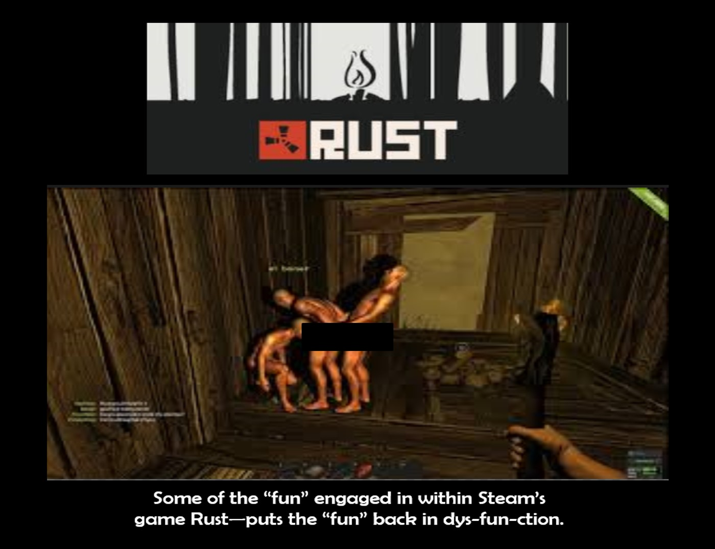 Rust game  Steam's transgender-transsexual game Rust | True Freethinker