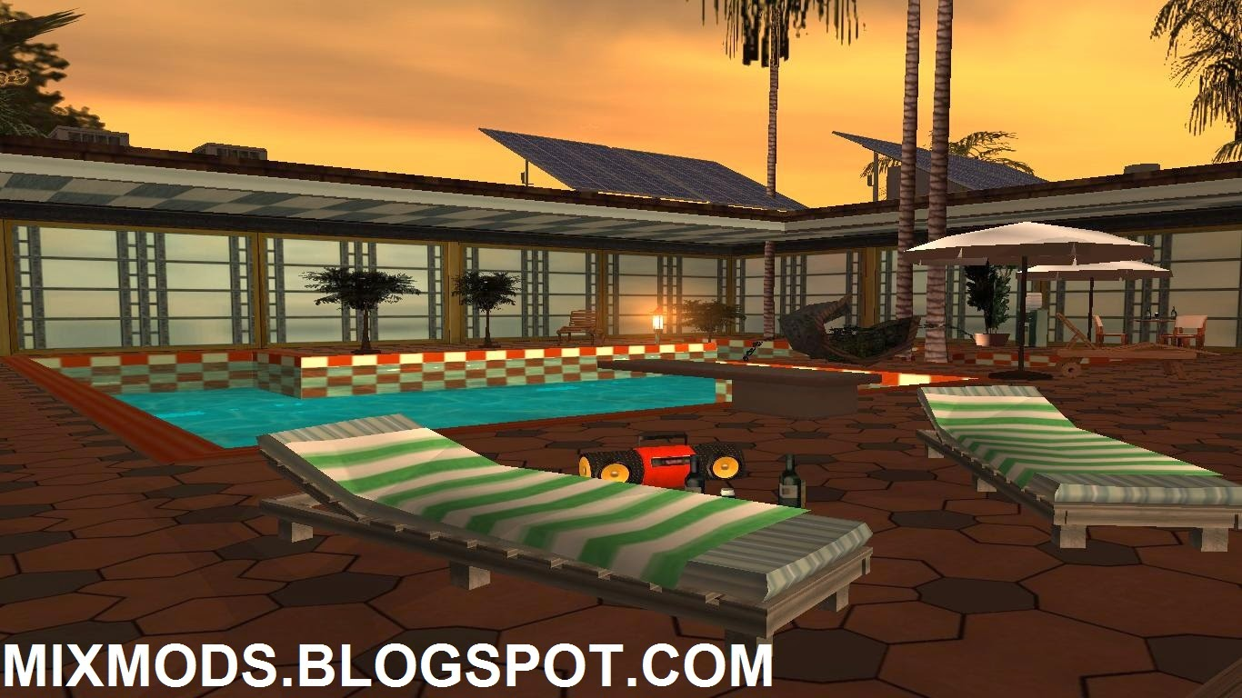 Jogos tutoriais mods for Casa moderna gta sa
