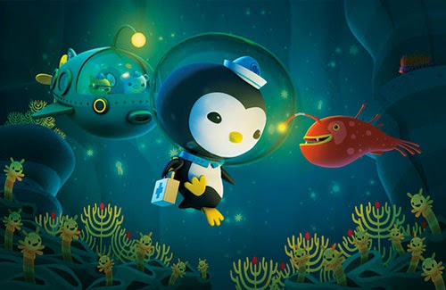 Octonauts undersea animals