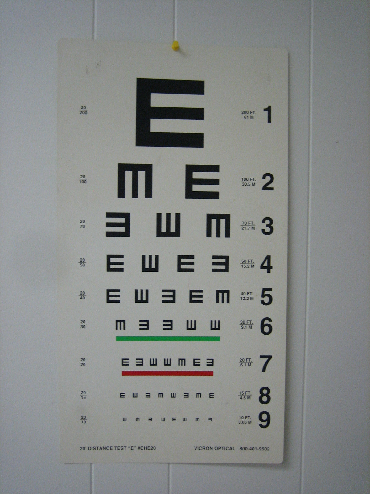 Delgado 90 years delgado a z ophthalmic medical assistant standard eye test chart nvjuhfo Image collections