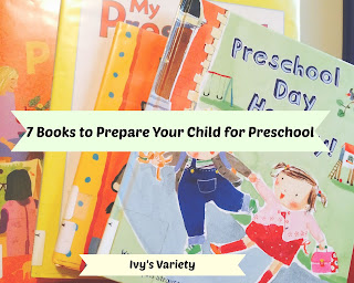 children's books to prepare for preschool #ivysvariety
