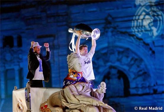 Real Madrid la Décima Copa De Europa Celebración en Cibeles Campeones de Champions 2014