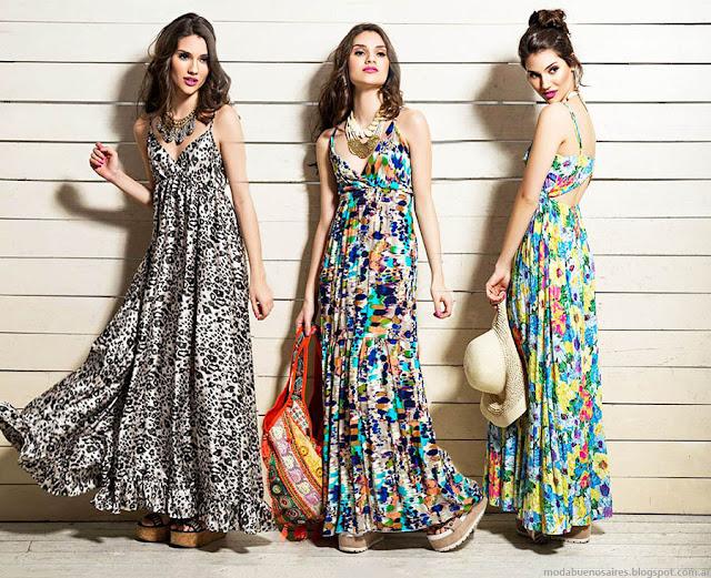 Moda primavera verano 2016 vestidos de moda 2016 Sophya.