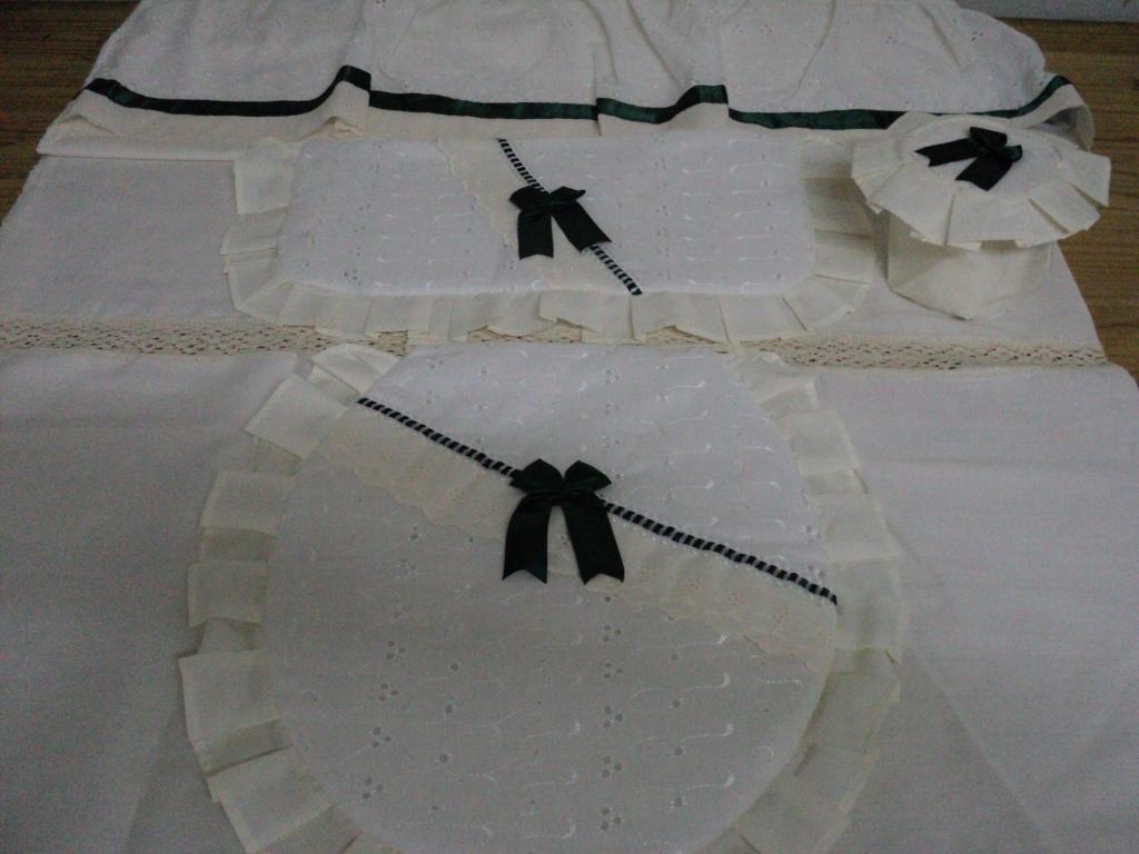 Confecciones Genesis Cortina De Bano Con Set Broderie