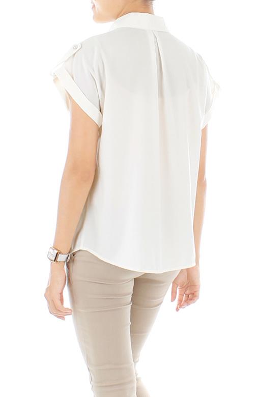 Off White Bond Girl Military Shirt