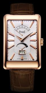 Montre rectangle à l'ancienne Piaget référence G0A33062