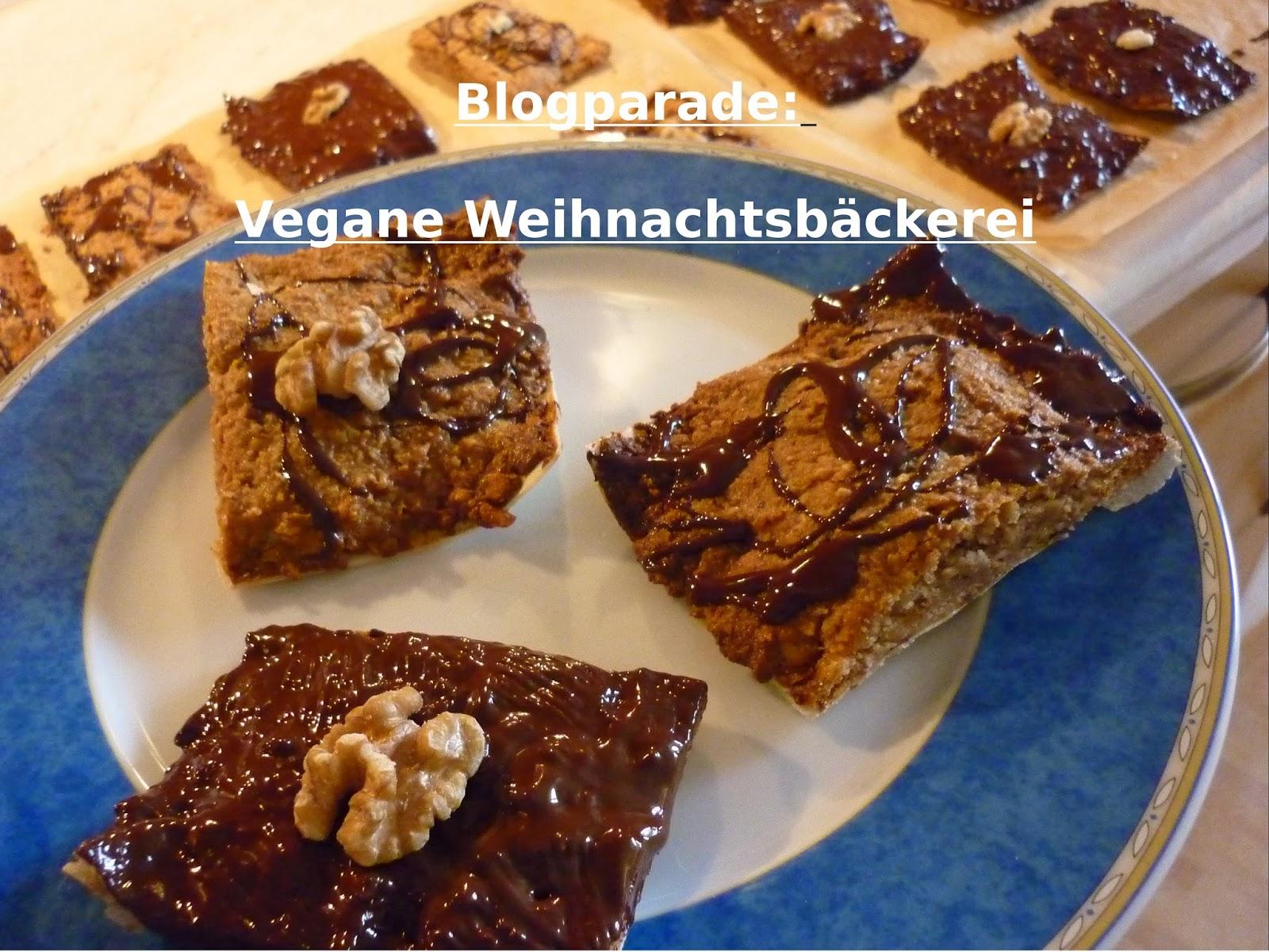 Blogparade Vegane Weihnachtsbäckerei