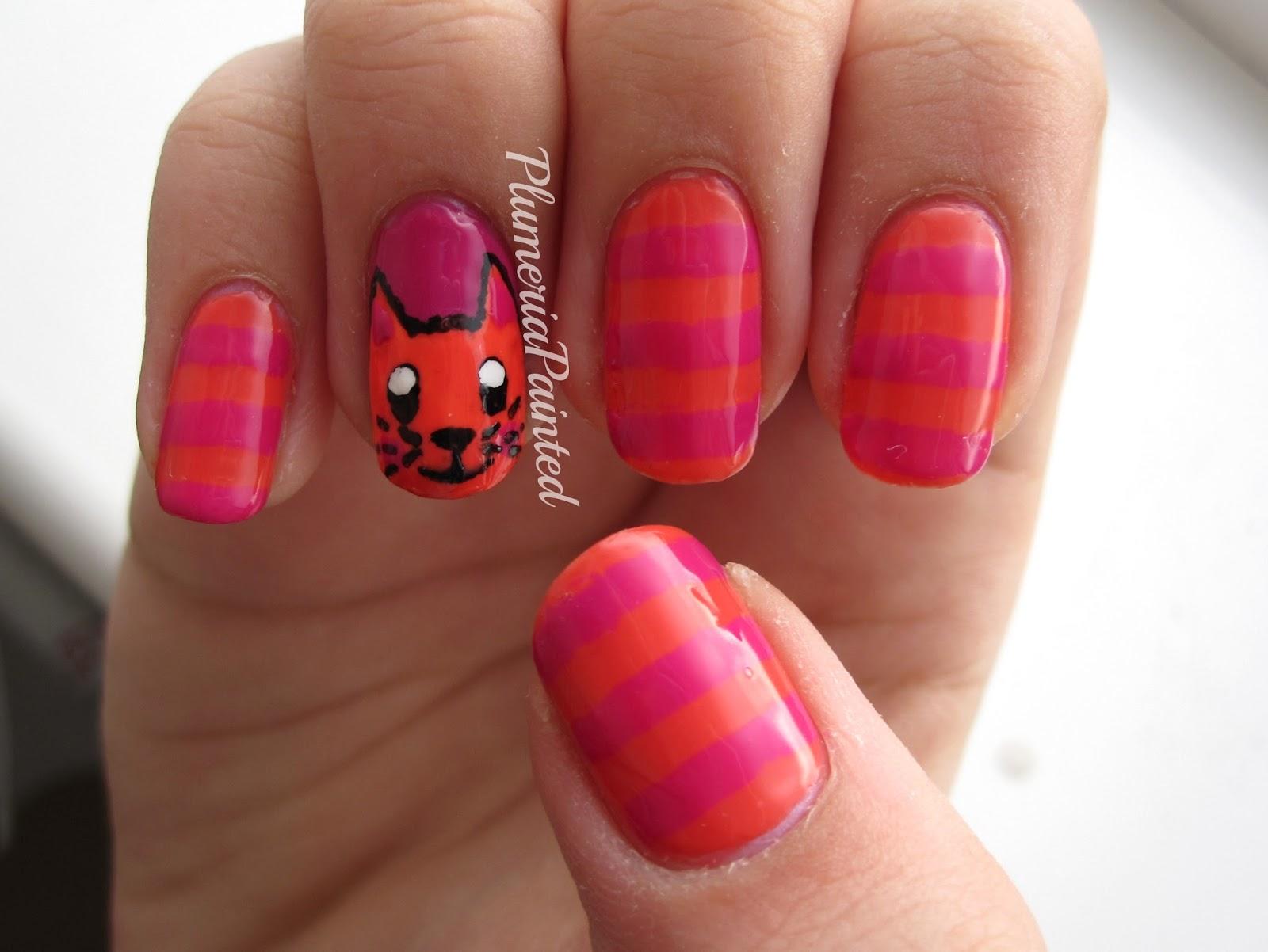 PlumeriaPainted: 31DC2013: Day 2 - Orange Nails