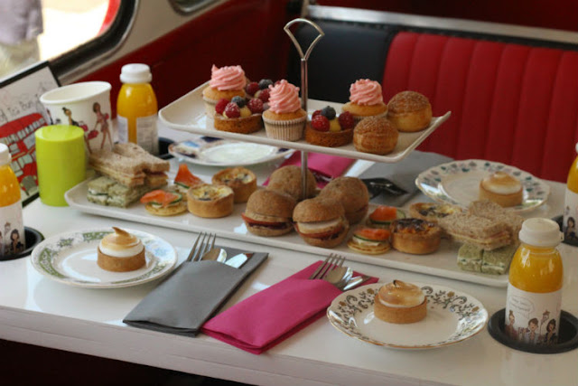 Afternoon Tea on a Double Decker Bus