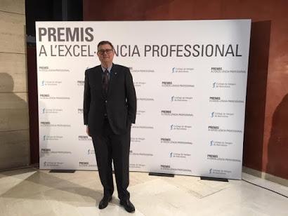 PREMIOS     Premi Excel·lència Professional 2018 CoMB