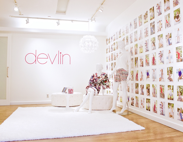 Devlin Manhattan Showroom